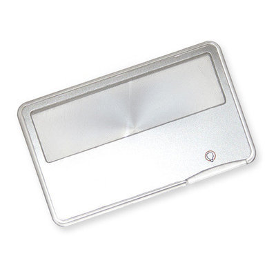 Carson MagniCard, 2x LED Lighted Credit Card Size Magnifier