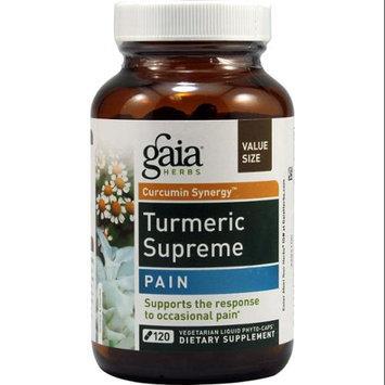 Gaia Herbs Curcumin Synergy Turmeric Supreme Pain - 120 Vegetarian Liquid Phyto-Caps