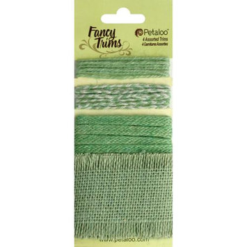 Petaloo Fancy Trims Burlap 20