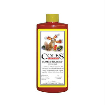 Cole's Wild Bird Products Co Cole's Wild Bird Products 16 oz Flaming Squirrel