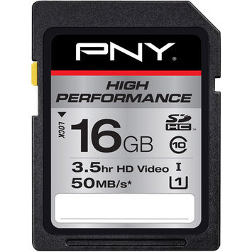 PNY High Performance 16GB Secure Digital High Capacity (SDHC)
