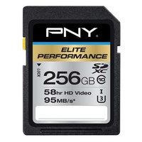 Pny Elite Performance 256GB Secure Digital Extended Capacity [sdxc] - Class 10/uhs-i [u3] - 95 Mbps Read (p-sdx256u395-ge)