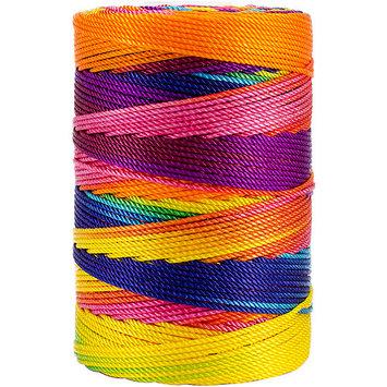 Iris Nylon Thread Size 18 197yd-Crayon Mix