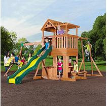 Adventure Playsets Thunder Ridge Wood Gymset