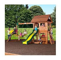 Leisure Time Products Alpine Cedar Swing Set/Play Set and Free Installation