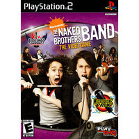 Sony Naked Brothers Band PlayStation 2 (PS2) Game THQ