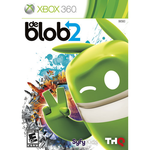 Xbox 360 - De Blob: The Underground - By THQ