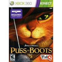 THQ 752919553961 Kinect Puss in Boots for Xbox 360