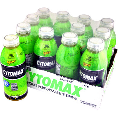CytoSport Cytomax Citrus 16.9 oz 12 ct - CSPTRCYT0012CITRLQ
