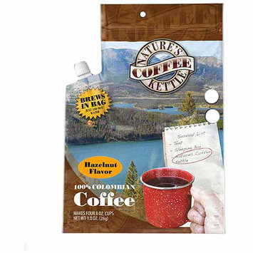 Ture's Coffee Kttl Natures Coffee Kttl 351355 Hazelnut Colombian Coffee