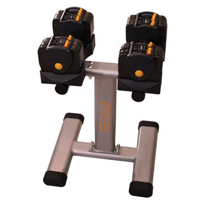 Source Plus Inc Performance Fitness Systems 3-24 lb. Adjustable Dumbbell with Stand