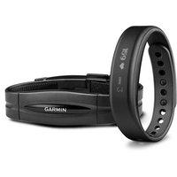Garmin - Vivosmart Activity Tracker With Heart Rate Monitor (small) - Black