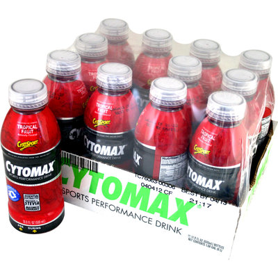 CytoSport Cytomax Tropical Fruit 16.9 oz 12 ct - CSPTRCYT0012TROPLQ