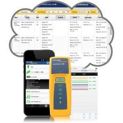 Fluke Networks LinkSprintera ¢ Network Tester MODEL 300