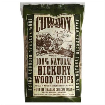 Cowboy Charcoal 180 Cu In Cowboy Brand Hickory Wood Chips 82002