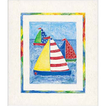 Art 4 Kids Sail Away Wall Art