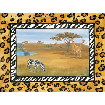 Art 4 Kids African Safari Wall Art