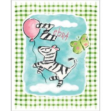Art4Kids 21172 Gingham Zebra - Contemporary Mount