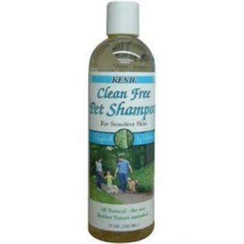 Kenic Pet Care Products 150-02410 Kenic Clean Free Shampoo 17oz