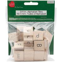 New Image Group 399201 Alphabet Tiles A-Z-60 Pieces