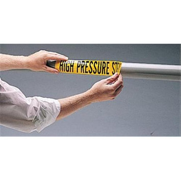 Brady 262-7054-3C Green Self Sticking Inchcity Water Inch Pipe Marker