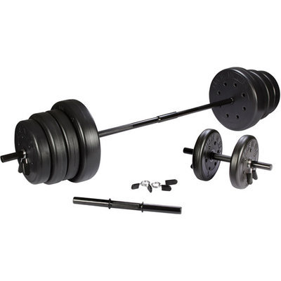 Usweight US Weights 105 lb Traditional Weight Set with Dumbbells