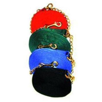 Imported Horse & Supply Lunge Line with Chain Black