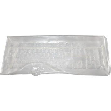 KeyTronicEMS VIEW-SEAL-LTTB Plastic Cover for Keyboard - Clear
