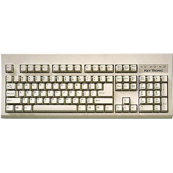 Keytronics KT400P1 Large L Shape Enter Key- Ps2- Beige