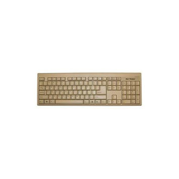 KEYTRONICS LARGE L SHAPE ENTER KEY USB BEIGE KEYBOARD. ROHS COMPLIANT