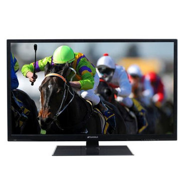 Sansui SLED4215 42in Accu Led Lcd Tv 1080p Mntr Display D-led Piano Black