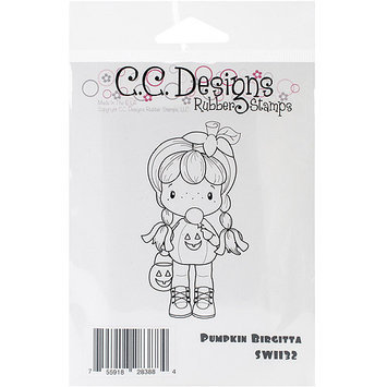 C.c. Designs Swiss Pixie Cling Stamp 2