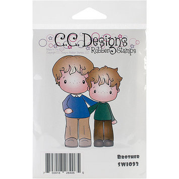 C.c. Designs Swiss Pixie Cling Stamp 3
