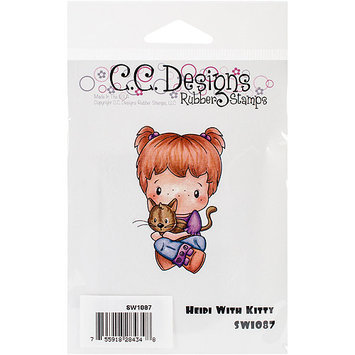 C.c. Designs Swiss Pixie Cling Stamp 2.75