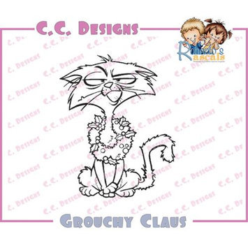 C.c. Designs Roberto's Rascals Cling Stamp 3.25