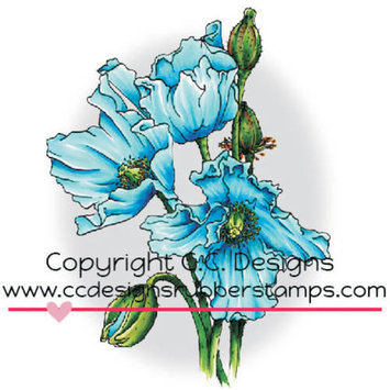 C.c. Designs Doveart Cling Stamp 3