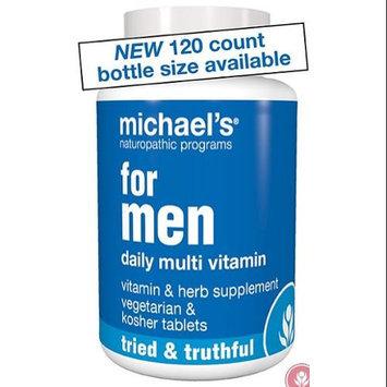 Michael's Naturopathic Programs - For Men Daily Multi Vitamin - 120 Vegetarian Tablets