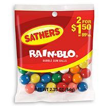 Sathers Rainblo Gum Balls