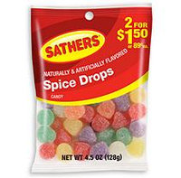 Sathers Spice Drops Candy