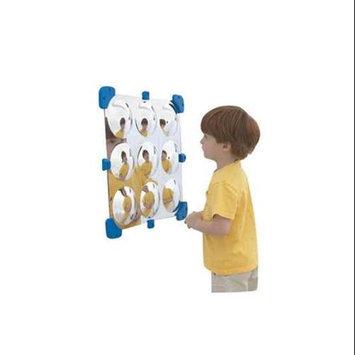 Childrens Factory Children s Factory CF332-525 18 in. Square Bubble Mini Mirror