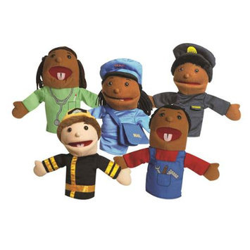The Children's Factory 5 Piece Career Puppet Set
