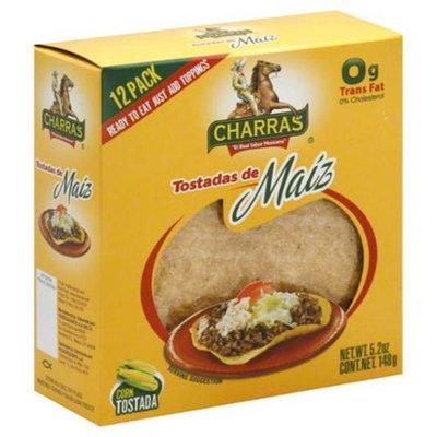 Charras Tostada Corn 12Ct 5.25 Oz - Case of 12