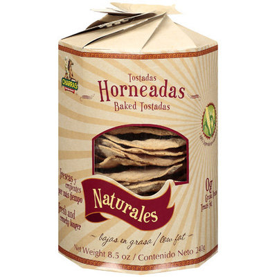 Charras Tostada Baked Natural 8.5 Oz Case Of 8