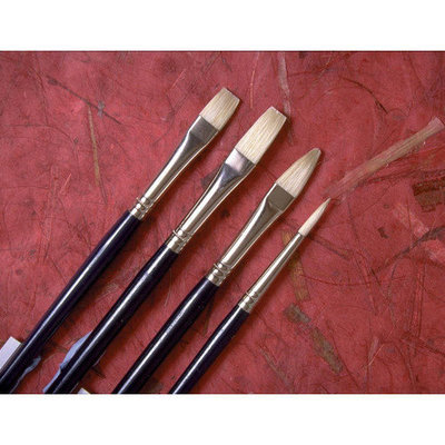 Princeton Series 5200 Chinese Bristle Oil Brushes 8 filbert