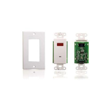 Cables To Go TruLink Infrared (IR) Remote Control Dual Band Wall Plate Receiver