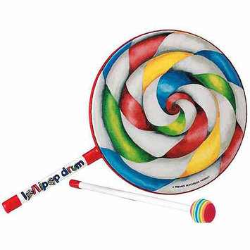 Remo Kids Percussion Collection Lollipop Drum (10 Inch)