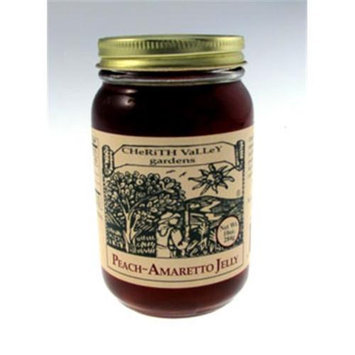 Cherith Valley Gardens PA10 Peach Amaretto Jelly 10 oz