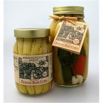 Cherith Valley Gardens PG16 Hot And Spicy Pickled Garlic 16 oz