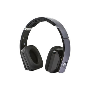 Monoprice Premium Virtual Surround Sound Bluetooth On-the-Ear Headphones w/ aptX