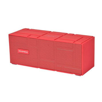 Monoprice Portable Bluetooth NFC Brick Speaker, Red
